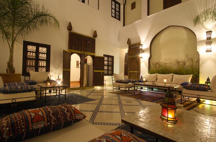 Riad karmela une d tente absolue au sein de marrakech for Arredamento casa stile africano