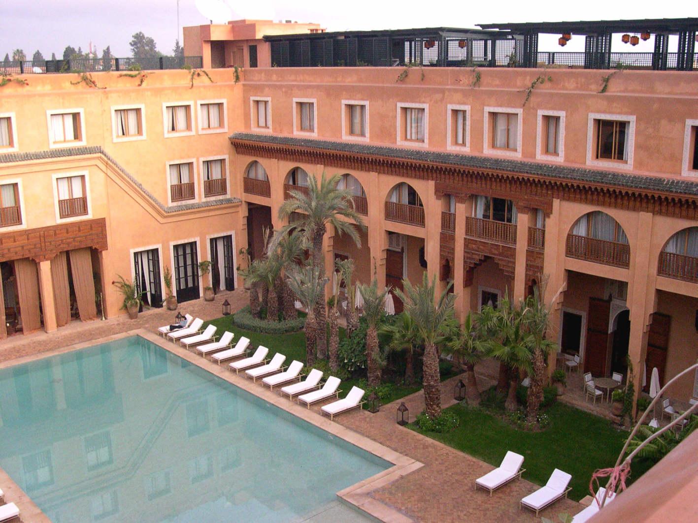 Les Jardins De La Koutoubia Un Hotel De Luxe Juste A Une Courte