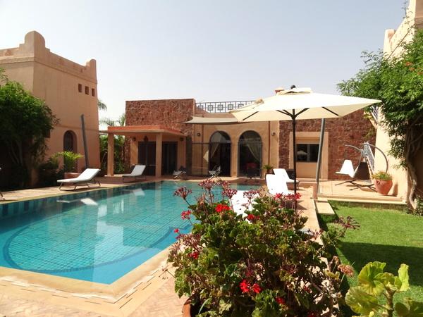 Villa louer pour les f tes de fin d ann e marrakech for Villa des jardins marrakech