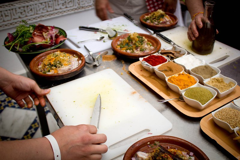 Le tigmiza est parfait pour vos vacances riad - Cours de cuisine bruxelles ...